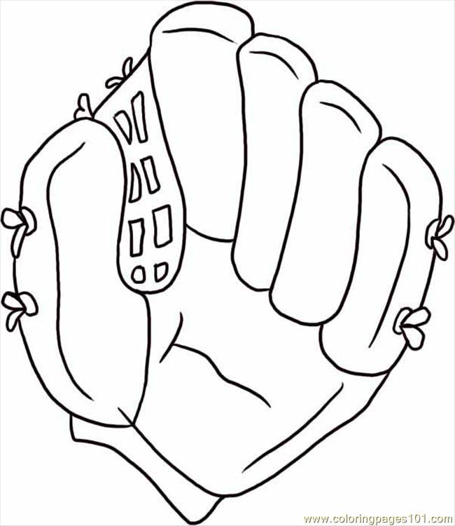 Baseball Glove Template Cake Ideas and Designs