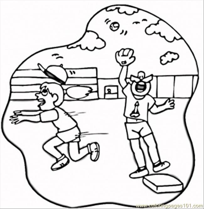 Free a field day coloring pages