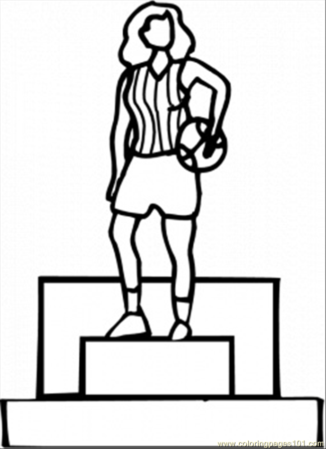 Award Ribbon Coloring Sheet Coloring Pages