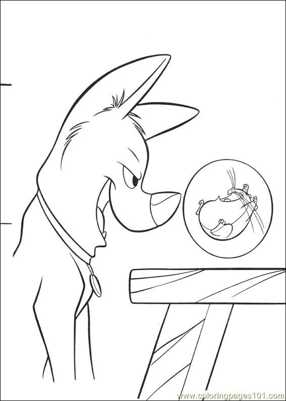 coloring pages bolt coloring pages 022 (cartoons > bolt