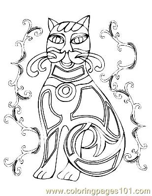 irish symbol Colouring Pages