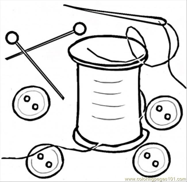 Button Shirt Coloring Pages