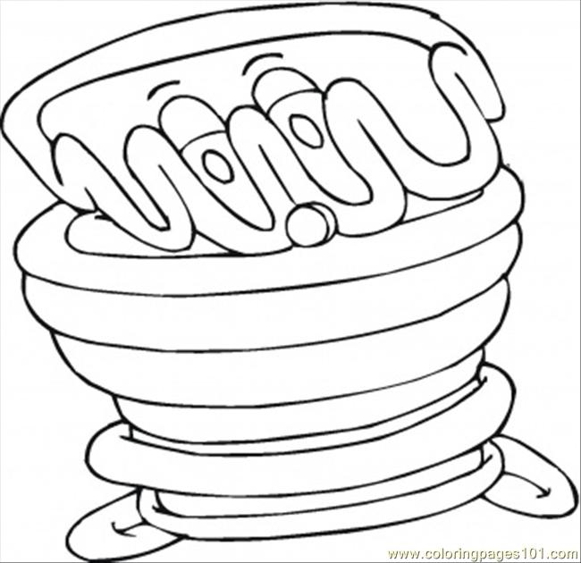 Coloring Pages Milk Chocolate (Food & Fruits > Desserts