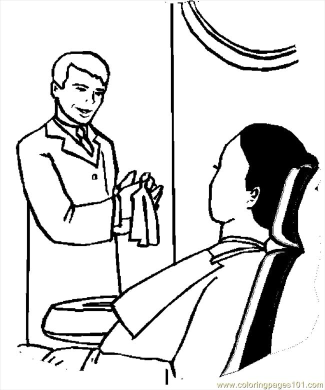 Free coloring pages of doctor teeth