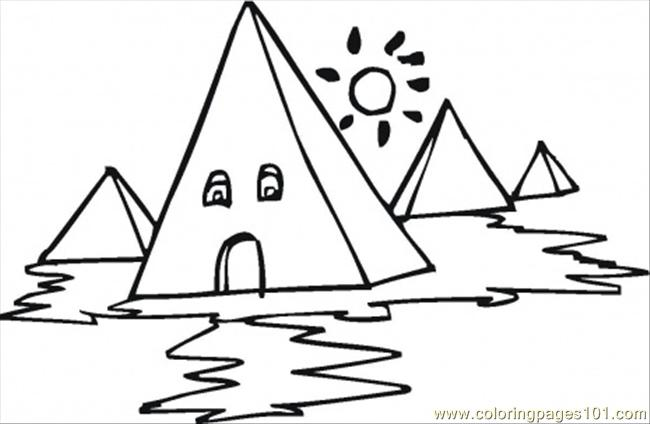Free food pyramids for kids coloring pages