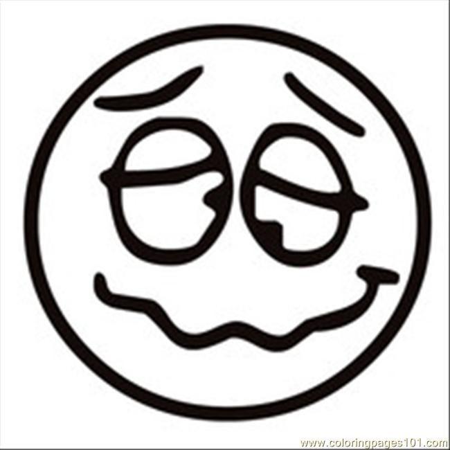Emotion Faces Coloring Sheets Coloring Pages