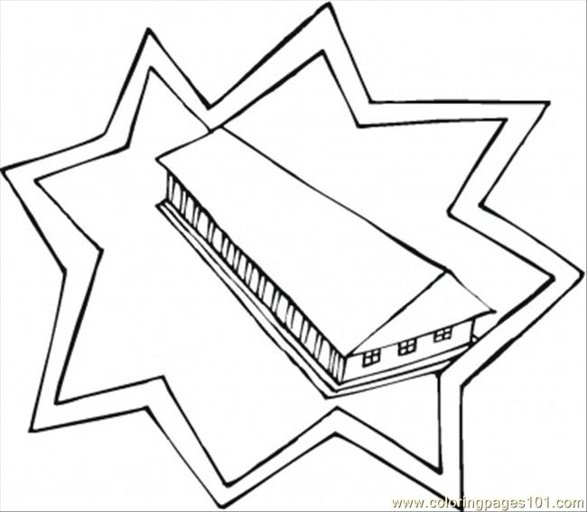 Free coloring pages of architect