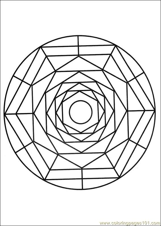 mandala colring pages printables