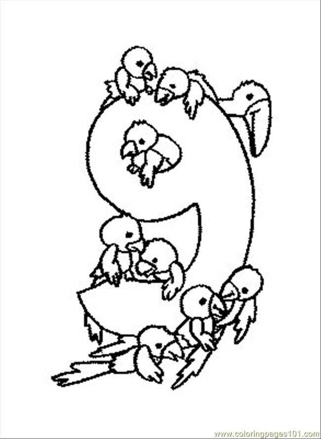 Numbers 11-20 coloring pages
