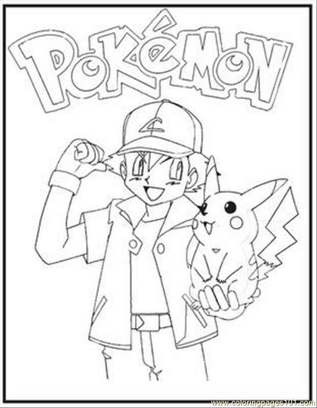 pokemon b Colouring Pages