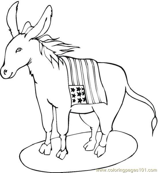 coloring pages vote (10) (peoples > politics)  free