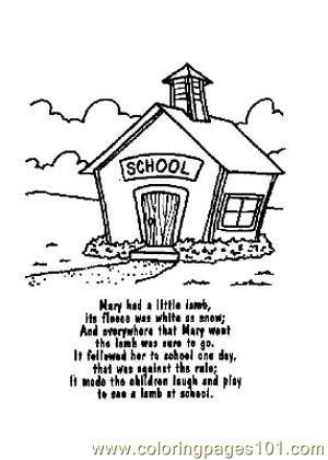Coloring Pages Nursery Rhymes Picture (15) (Education
