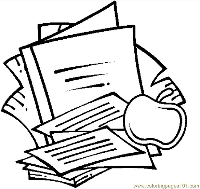 Coloring Pages School Supplies 09 (Education > School