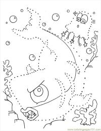 Free coloring pages of difficult dot to dots