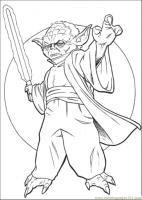 Coloring Pages Master Yoda 4 Cartoons > Star Wars   free ...