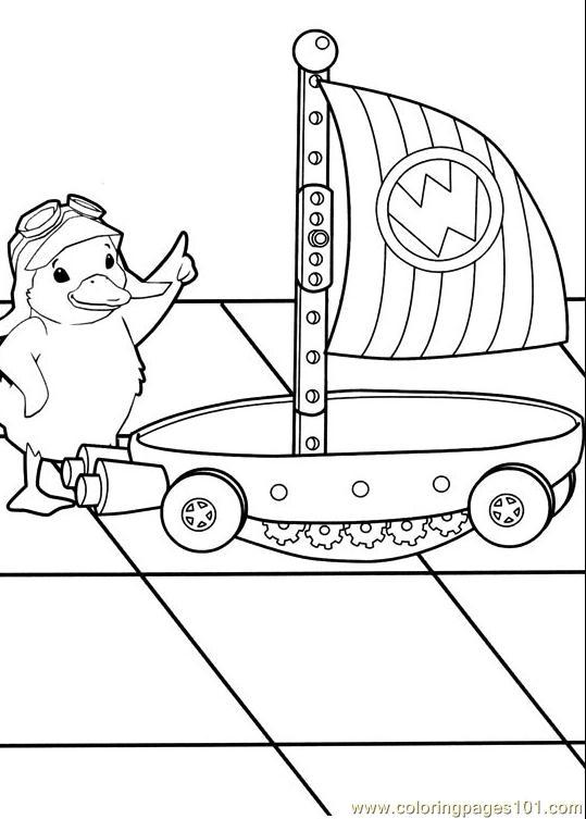 Coloring Pages Wonder Pets 014 (13) (Cartoons > The Wonder