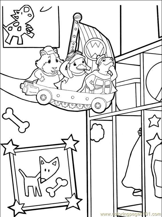 Coloring Pages Wonder Pets 014 (3) (Cartoons > The Wonder