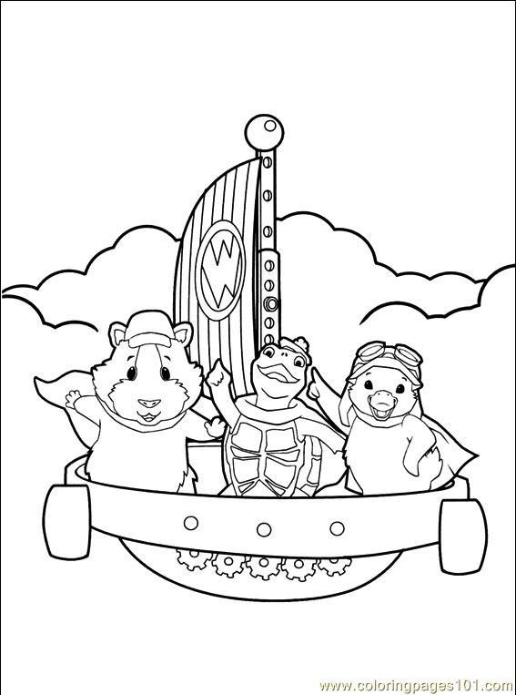 Coloring Pages Wonder Pets 014 (5) (Cartoons > The Wonder