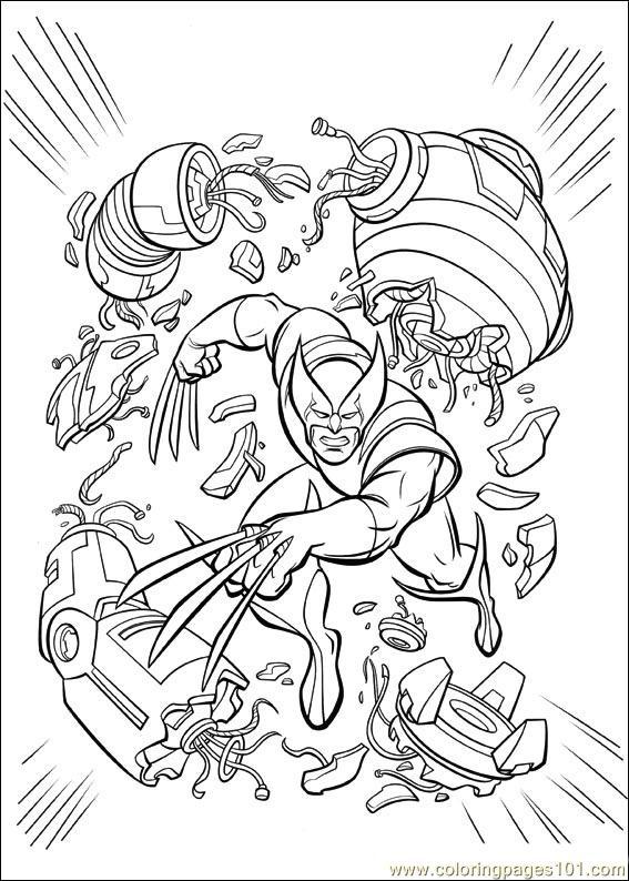 Dibujo De Cyclops Para Colorear