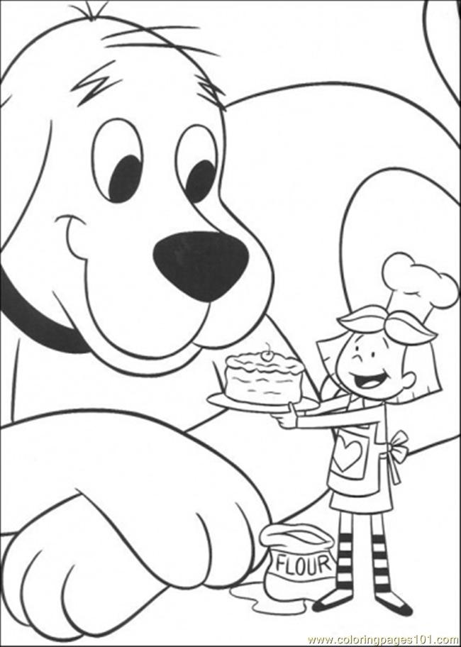 Free Coloring Pages Of Time For Cake