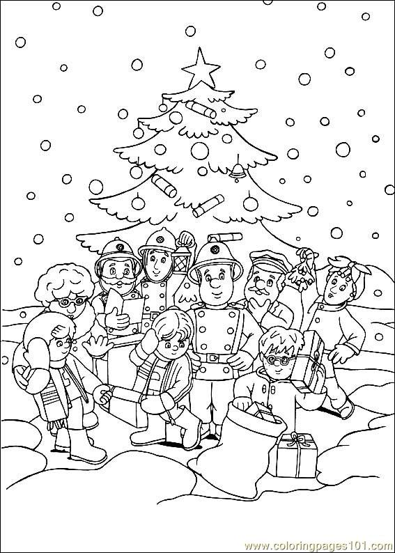 Fireman Coloring Pages Fireman Coloring Fireman Coloring