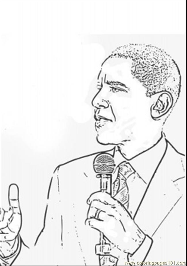 Barack obama talking coloring page free politics, superman coloring pages