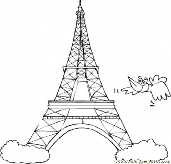 Symbol Of France Coloring Page Free France Coloring