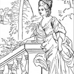 Baby Camping Chair Round Swivel Cuddle Beautiful Duchess Coloring Page - Free Royal Family Pages : Coloringpages101.com