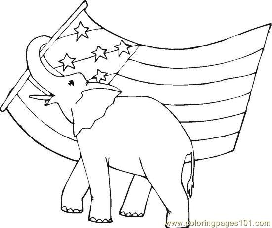 Vote For Me Pages Coloring Pages