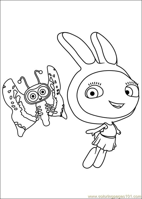 Waybuloo 05 Coloring Page Free Miscellaneous Coloring