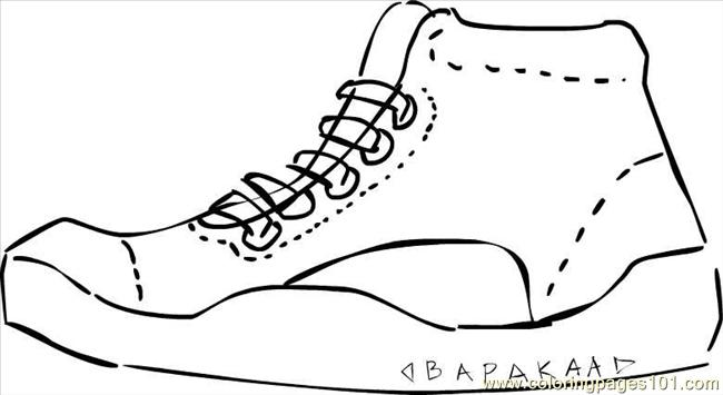 Sneakers 2bbapakaa Coloring Page