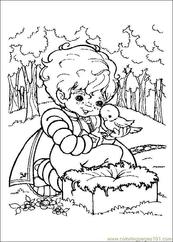 Rainbow Brite Coloring Pages Pdf Rainbow Bright Coloring