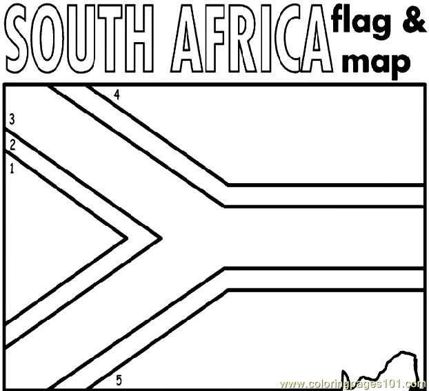 South Africa Coloring Page Free Africa Coloring Pages Coloringpages101 Com