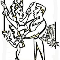 Carnival dances Coloring Page   Free Brazil Coloring Pages ...