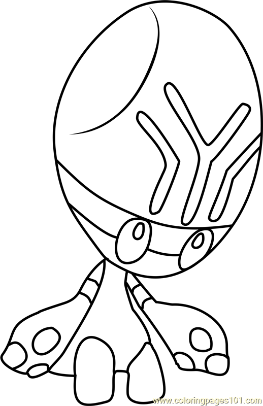 Elgyem Pokemon Coloring Page Free Pokmon Coloring Pages