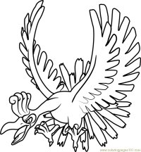 Ho-Oh Pokemon Coloring Page - Free Pokmon Coloring Pages ...