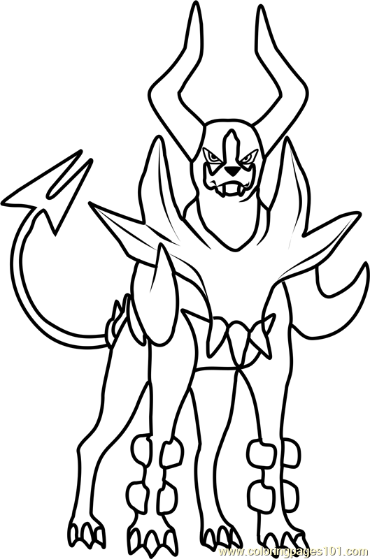 Banette Coloring Page