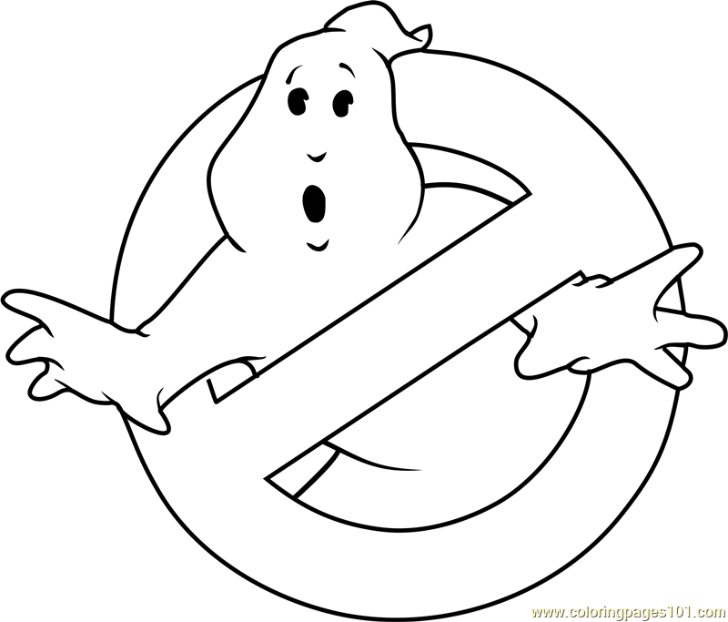 coloring halloween ghostbusters pages