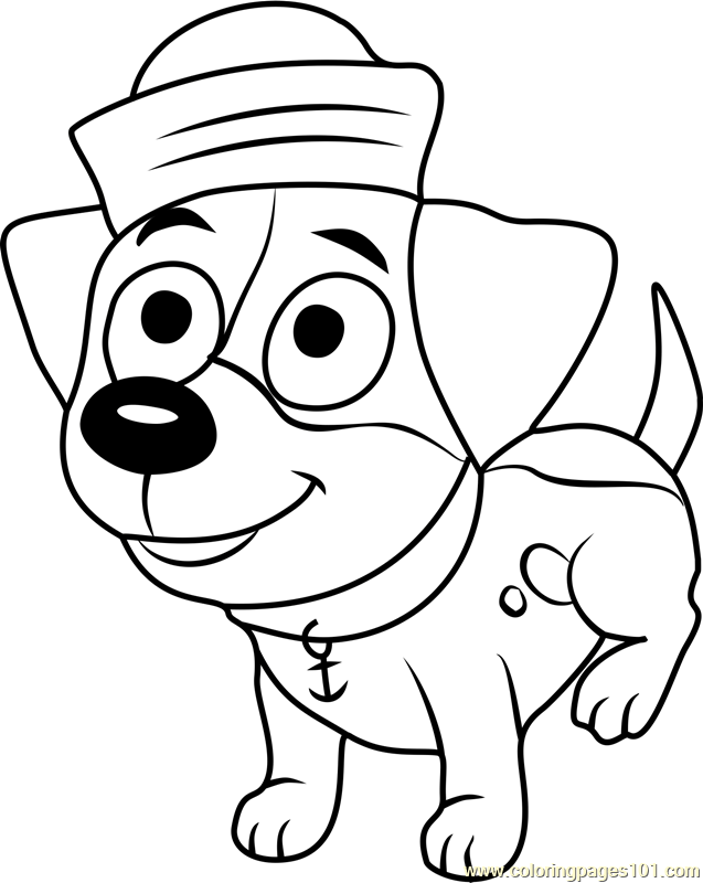 Pound Puppies Suds Coloring Page Free Pound Puppies