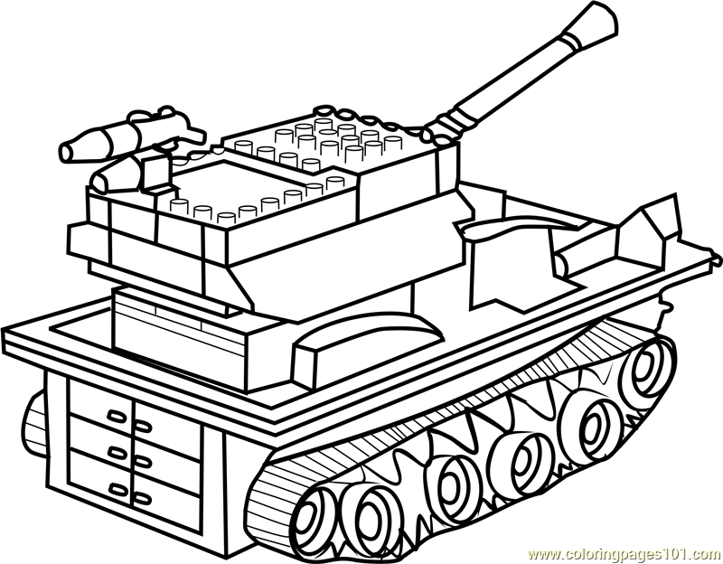 Army Tanks Coloring Pages Download And Print Army Tanks