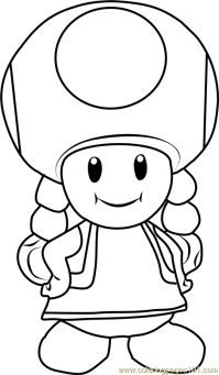 Mario Kart Toad Coloring Pages Free Coloring Pages Of Mario