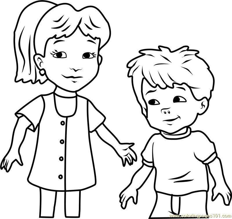 Zak And Wheezie Dragon Tales Coloring Pages