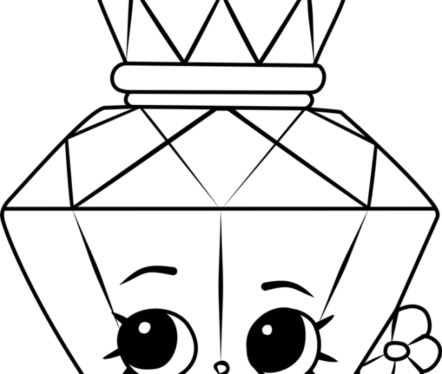 Polly Perfume Shopkins Coloring Page Free Shopkins Coloring