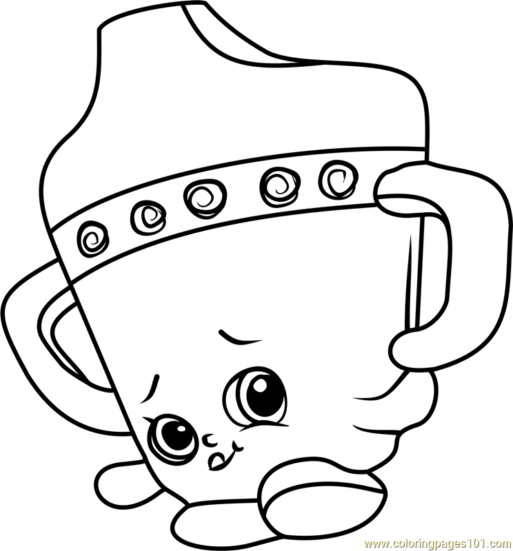 Crush Coloring Page