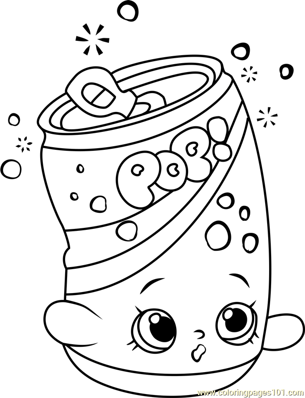 Soda Pop Coloring Pages