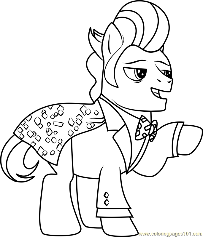 Gilda Coloring Page Free My Little Pony