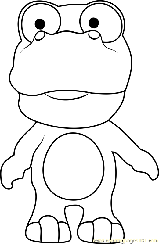 Crong Coloring Page Free Pororo The Little Penguin