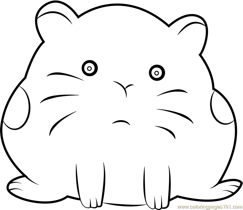Hamster Coloring Page Free We Bare Bears Coloring Pages Coloringpages101 Com