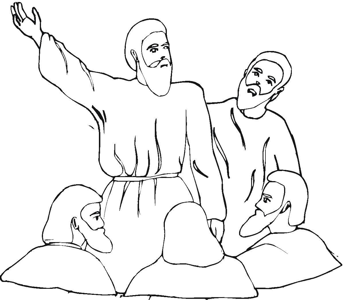 Isaiah coloring page