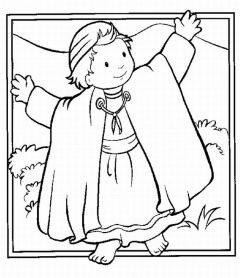 joshua story Colouring Pages